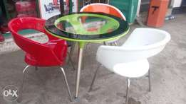 This is brand round restaurant table