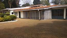 Lavington: Delightful 5Bedroomed commercial bungalow for rent.