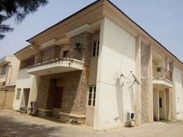 5 bedroom semi detached duplex for sale in Apo legislative Quarters.