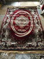 pure red design Arabian Persian rugs (5 by 7)