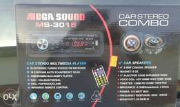 Usb Car Tape with set of mids new in box