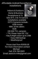 Cctv use your android device and screen