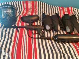 Spider Victor paintball gun and kit