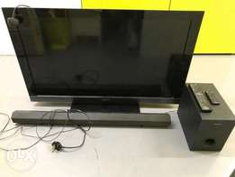 Sony Bravia Tv complete with sound bar kit