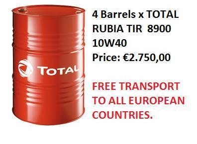 Total Rubia Tir 8900 10w40 - 2017