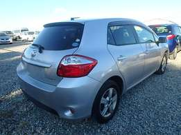 Toyota auris silver at 1080k