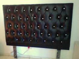 Elegant King size headboard, price nonnegotiable! Pick up only