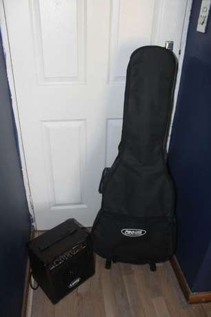 Maxwell Electric Acoustic Guitar for sale with extras! Welgedacht - image 3