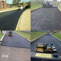Tarriing and paving