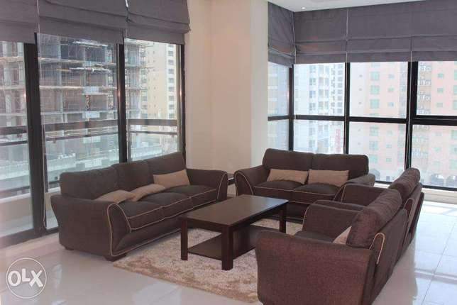 Brand new modern 2 BR in Juffer / Balcony جفير -  1