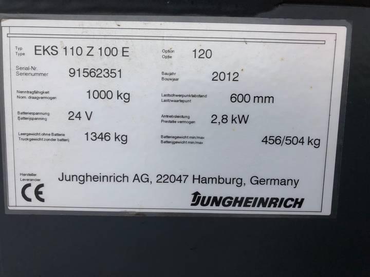 Jungheinrich EKS 110 L 100 E Pallettruck - image 6