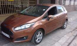 Brown Ford Fiesta Ecoboos