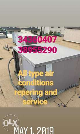 All type ac repering and service