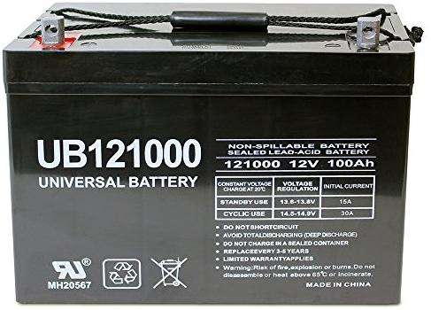 New Panasonic 12V ,100Ah back-up UPS battery_12X100 Nairobi CBD - image 1