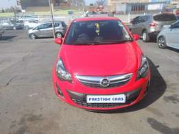 opel corsa 1.4 hb 2014 red colour