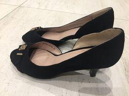 9fe75402c0b116 Жіночі замшеві туфлі ,з відкритим носочком,розмір 37.