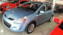 2011 hyundai i20 1.4 fuel saver with extremely low mileage