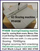 Scoring/Creasing machine NEW Manual good quality A3+ Digital printed