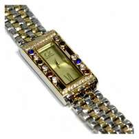 Gold and silver straps elegant ck watch