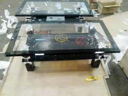 Real heavy glass coffee table