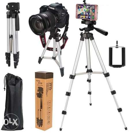 Tripod camera and cellphone stand