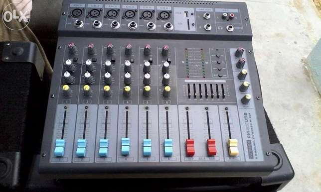 Like Brand New 2 Dixon 15 inch Speakers, 6 Channel Powered Mixer... Kempton Park - image 2