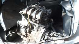 Clio engine and gearbox
