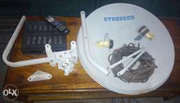 Strong HD decoder model 4940 with Dish/Receiver