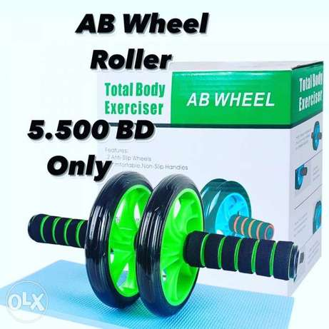 AB Roller (5.500)BD only Two Wheel Workout Fitness GYM Equipment Exerc