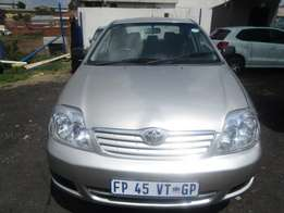 Toyota corolla, 2007 model 4-door, factory a/c, c/d player, for sale