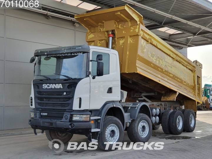 Scania G400 8X4 Manual 26m3 Big-Axle Steelsuspension Euro 5 - 2013