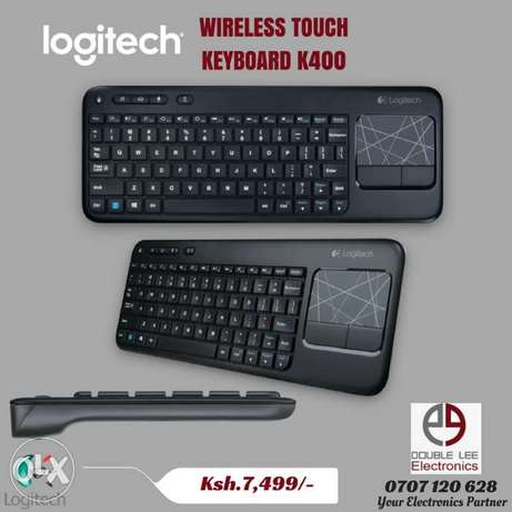 Brand New Logitech K400 Wireless Touch Keyboard. Nairobi CBD - image 1