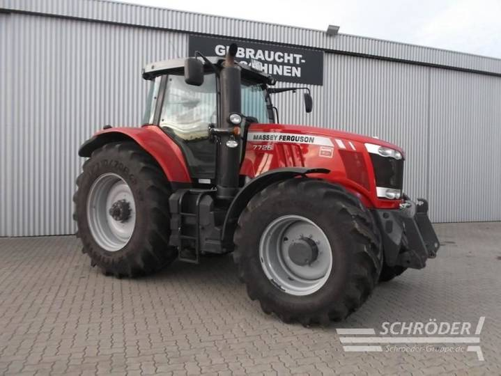 Massey Ferguson 7726 exclusive dyna-6 - 2017