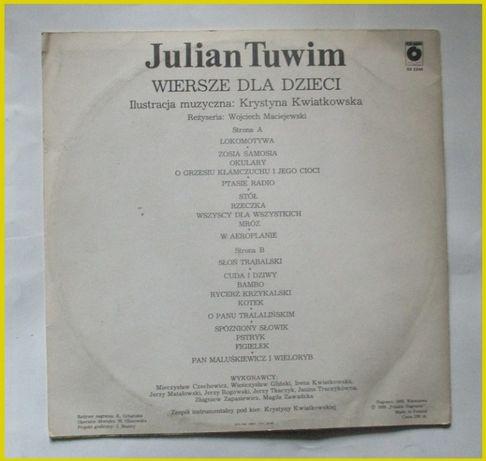 Julian Tuwim Wiersze Dla Dziecipłyta Winylowalokomotywa