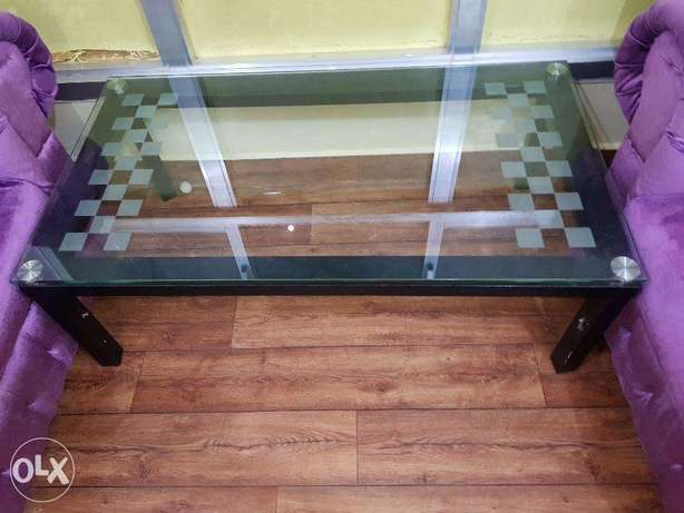 2 nos. Glass cofee table for sale 1 big Rectangular, and 1 Square