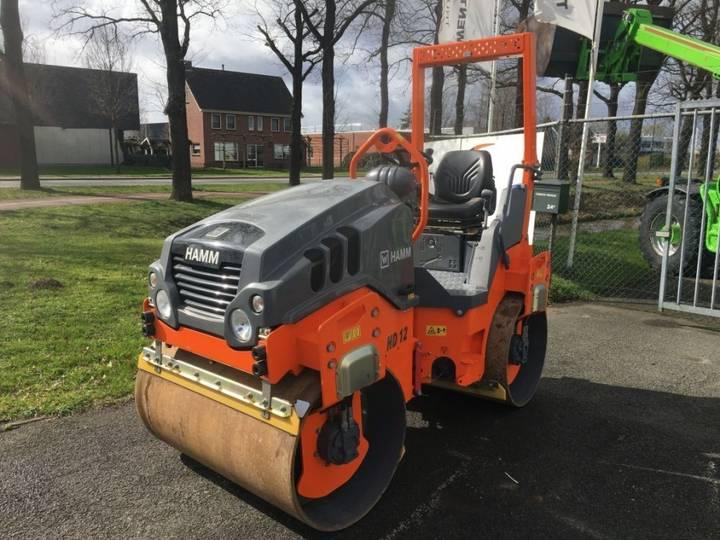 Hamm Tandem Roller Walze Wals Compactor Hd 12 Vv - 2019
