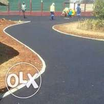 Resurfacing of tar and paving