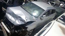Audi Q7 kBR with damaged front part