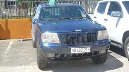 Stripping for parts Grand Jeep Cherokee 4x4 Limited