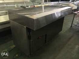Under bar self contained refrigerator