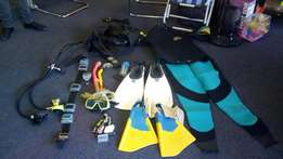 Scubadiving equipment