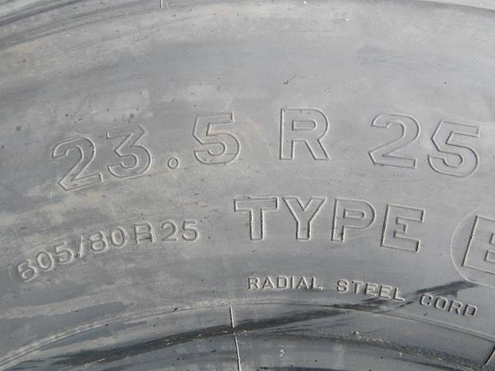 Michelin 23.5r25 Xl B - Used Aa - image 4
