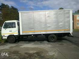 A Nissan truck UD55 for Transport.