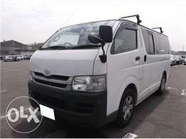 Toyota Hiace 2008 For Quick Sale Asking Price 2,350,000/=o.n.o