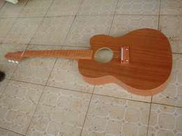 22 Fret Long Cherry-ed Mahogany Acoustic Solo & Rhythm Guitar