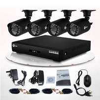 CCTV KIT 4CH With internet viewing