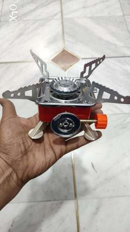 New foldable and portable Mini stove for outdoor cooking بوشر -  4