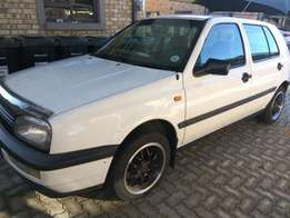 1996 golf3, 1.6 for sale R19900