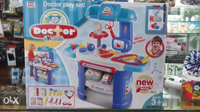 new big doctor set kids medical center music light