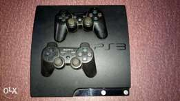 Ps3 with games and pads for sale